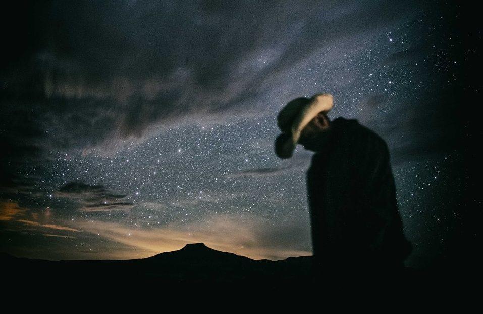Starry night sky in Abiquiu. Photo by Jim DeMain
